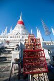 Phra Samut Chedi Pagoda in Thailand. Royalty Free Stock Images
