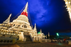 Phra Samut Chedi. Is the westernmost district Amphoe of Samut Prakan Province in central Thailand Royalty Free Stock Photos
