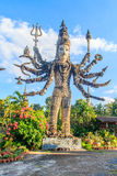 Phra Shiva in Sala Keoku, het park van reuze fantastisch concreet s royalty-vrije stock foto