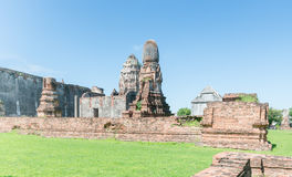 Phra Si Rattana Mahathat, The famous public temple in Lopburi, T Royalty Free Stock Images