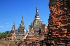 Phra si sanphet寺庙 图库摄影
