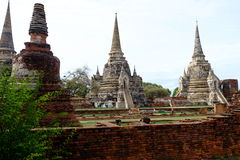 Phra si sanphet Tempel Stockfoto