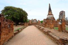 Phra si sanphet Tempel Stockbild