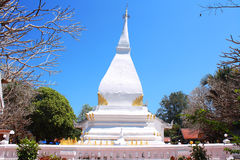 Phra That Si Song Rak temple, Wat Phra That Si Song Rak, Loei Thailand. Phra That Si Song Rak temple at Loei Thailand Royalty Free Stock Photos