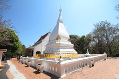 Phra That Si Song Rak temple, Wat Phra That Si Song Rak, Loei Thailand Royalty Free Stock Images