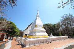 Phra That Si Song Rak temple, Wat Phra That Si Song Rak, Loei Thailand Stock Photo