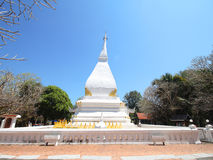 Phra That Si Song Rak temple, Wat Phra That Si Song Rak, Loei Thailand Royalty Free Stock Photography