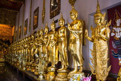 Phra Siam Deva Dhi raj With Buddha Statue Royalty Free Stock Images