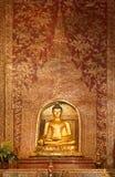 Phra Singh buddha. Phra Singh statue of Viharn Lai Kam Wat Phra Singh  of Chiang Mai Royalty Free Stock Photo