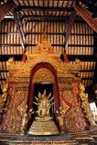 Phra Singh Buddha em Wat Phra Singh Fotografia de Stock