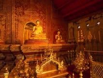 Phra Singh Buddha statue in Wat Phra Singh, Chiangmai, Thailand Royalty Free Stock Photography