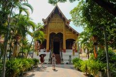 Phra singh de Wat imagen de archivo libre de regalías