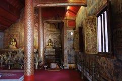 Phra Singh statue of Viharn Lai Kam Royalty Free Stock Image