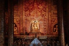 Phra Singh statue of Viharn Lai Kam Wat Phra Singh, Ancient land. DEC 24, 2009 Chiang Mai, Thailand - Phra Singh statue of Viharn Lai Kam Wat Phra Singh, Ancient stock photos
