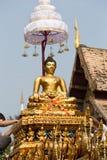Phra Singh staty av den Phra Singh templet. Fotografering för Bildbyråer
