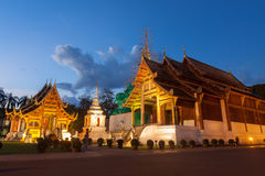 Phra Singh temple Stock Photography