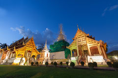 Phra Singh temple Royalty Free Stock Photography