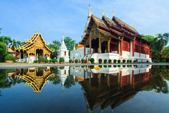 Phra Singh Temple (Wat Phra Singh) Fotografering för Bildbyråer