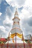 Phra som genast, en gammal thailändsk chedistupa eller pagod som innehåller reliken av Ananda, Yasothon, Thailand royaltyfri foto