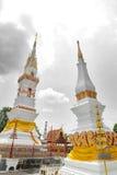 Phra som genast, en gammal thailändsk chedistupa eller pagod som innehåller reliken av Ananda, Yasothon, Thailand royaltyfri bild