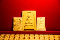 Phra somdej, Wat rakhangkhositaram, Wat Phra somdej响铃创造了历史 Somdet phutthachan的Phra 库存图片