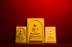 Phra somdej, Wat rakhangkhositaram, δημιουργημένη κουδούνι ιστορία Wat Phra somdej Somdet Phra phutthachan Στοκ Εικόνα