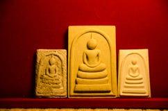 Phra somdej, Wat rakhangkhositaram, δημιουργημένη κουδούνι ιστορία Wat Phra somdej Somdet Phra phutthachan Στοκ Φωτογραφίες