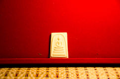 Phra somdej, Wat rakhangkhositaram in prakhun het is u Lord HRH Princess Sirindhorn geleidelijk aan wordt gemaakt die aan Royalty-vrije Stock Afbeeldingen