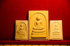 Phra somdej WAT rakhangkhositaram Phra somdej创造了历史 寺庙响铃Somdet phutthachan的Phra 免版税库存图片
