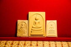 Phra somdej WAT rakhangkhositaram Phra somdej创造了历史 寺庙响铃Somdet phutthachan的Phra 免版税库存照片