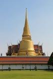 Phra Sri Ratana Chedi in Grand Palace in Bangkok Royalty Free Stock Image