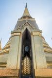 Phra Sri rattana Chedi Uroczysty pałac Fotografia Stock