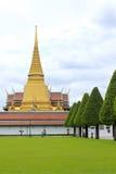 Phra Sri Rattana Chedi in Wat Phra Kaew royalty-vrije stock fotografie
