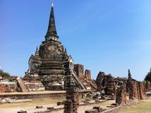 Phra Sri Sanpetch pagoda Zdjęcie Stock
