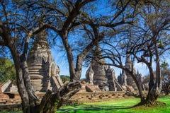 Phra Sri Sanphet temple in Ayutthaya, Thailand. Royalty Free Stock Photography