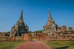 Phra Sri Sanphet Temple, Phra Nakhon Si Ayutthaya Province, Thailand