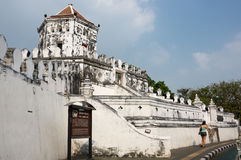 Phra Sumen Fort Royalty Free Stock Images