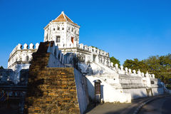 Phra Sumen fort, famous fort in Bangkok Royalty Free Stock Photos