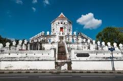 Phra Sumen Fort. Thanon Phra Athit Stock Photo