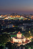 Phra Sumen Fort in twilight, Bangkok Royalty Free Stock Photos