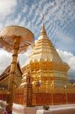 Phra tat della statua della Tailandia Fotografie Stock Libere da Diritti