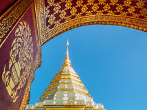 Phra Ten Doi Suthep Obrazy Stock