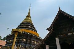 Phra Ten Lampang Luang obraz stock