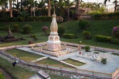 Phra Thart Panom en Mini Siam Park foto de archivo