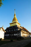 Phra That Chae Hang, Nan City, Thailand Royalty Free Stock Photography