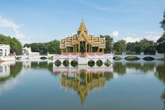 Phra Thinang Aisawan Thiphya-art at Bang Pa-In Palace, Thailand Stock Photography