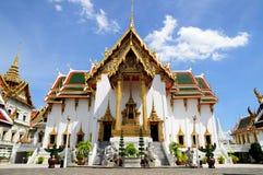 Phra Thinang Dusit Maha Prasat i Bangkok, Thailand Fotografering för Bildbyråer