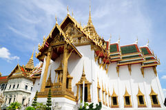 Phra Thinang Dusit Maha Prasat in Royal Palace Bangkok, Thailand Royalty Free Stock Images