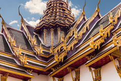 Phra Thinang Dusit roof Royalty Free Stock Photos
