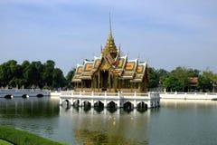 PHRA THINANG (Royal Residence) AISAWAN THIPHYA-ART Royalty Free Stock Image